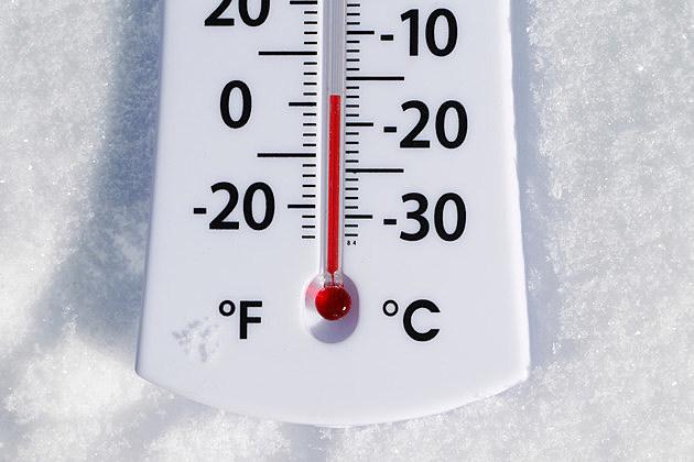 Temperature Gauge in the Snow
